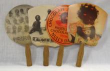 4 Modern Black Americana Fans