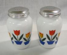 Tulip Decorated Salt & Pepper