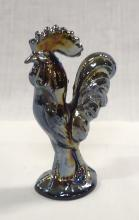 Carnival Glass Rooster Paperweight