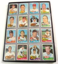 (16) 1965 Topps Baseball Cards