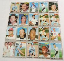 (20) 1970 Topps Baseball Cards