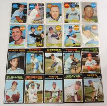 (20) 1969 and 1971 Topps Baseball Cards