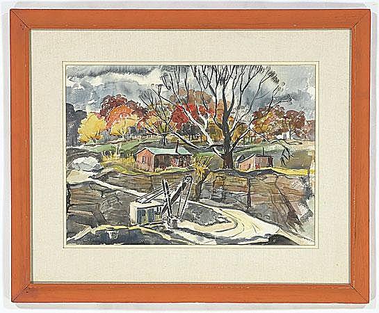 1930s Watercolor