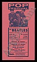 1963 Beatles Swedish Playbill,  Fab, Click for value