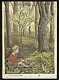 "Circa 1953 Elizabeth Orton Jones Original Artwork from ""The Velveteen Rabbit"""
