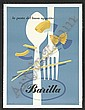 52 Ad Poster for Barilla Pasta by E. Carboni, Erberto Carboni, Click for value