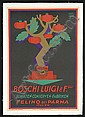 1926 Boschi Luigi  &  Sons Ad Poster - Carbone, Erberto Carboni, Click for value