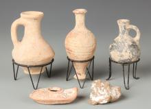 Collection of Earthenware Holy Land Antiquities