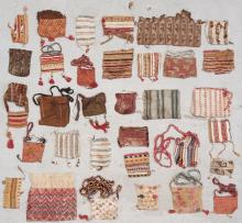Collection of 33 Pre-Columbian Cocoa Bags