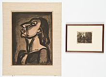 2 Works by European Printmakers: Kollwitz and Rouault