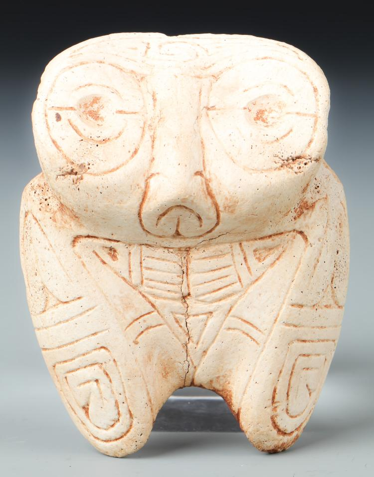 Taino Rare Large Bat-Like Form (1000-1500 CE)