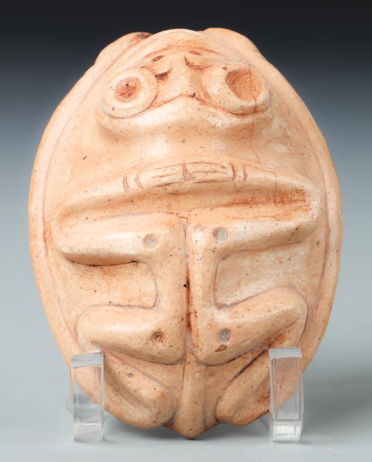 Taino Frog-Man Cemi/Stamp (1000-1500 CE)