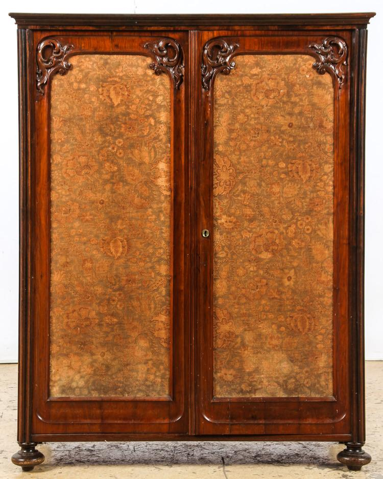 Continental Louis Philippe Style Linen Press