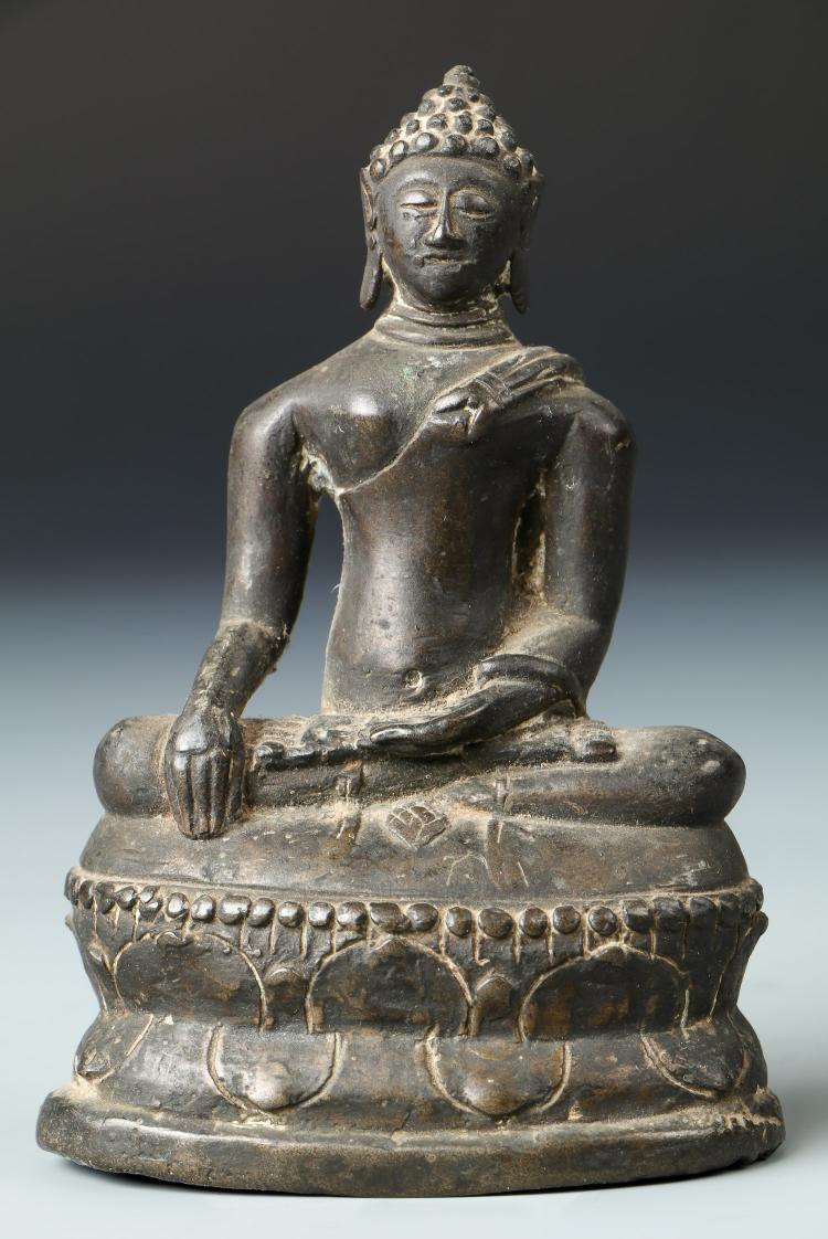 Antique Laos Buddha, 18th Century