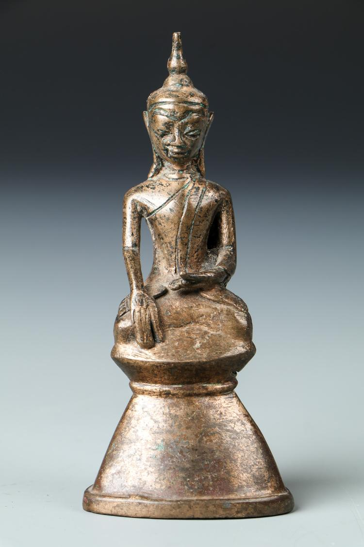 Rare Antique Burmese Buddha, 18th Century