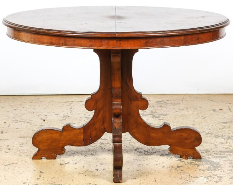 Continental Empire Style Breakfast Table