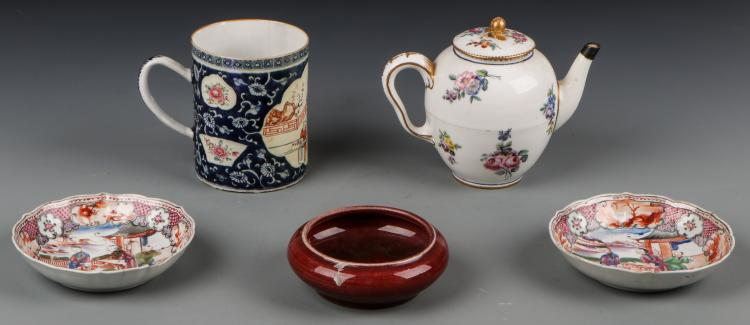 5 Pcs Chinese Export Porcelain