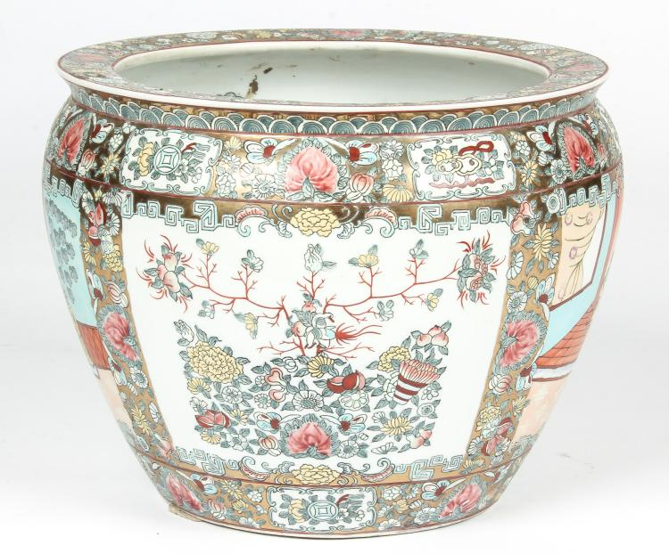 Chinese Gilt Enamel Fish Bowl
