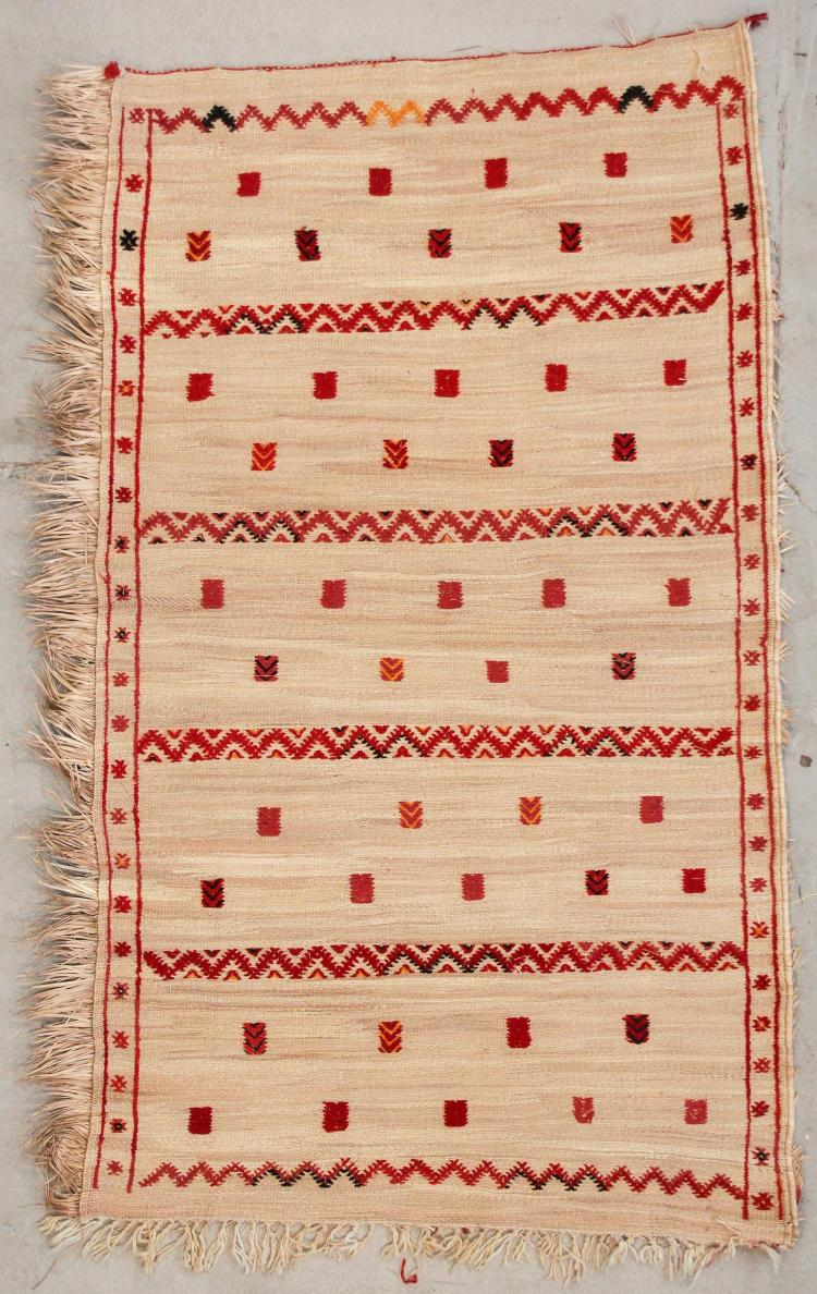 Middle Atlas Moroccan Rug: 4'6