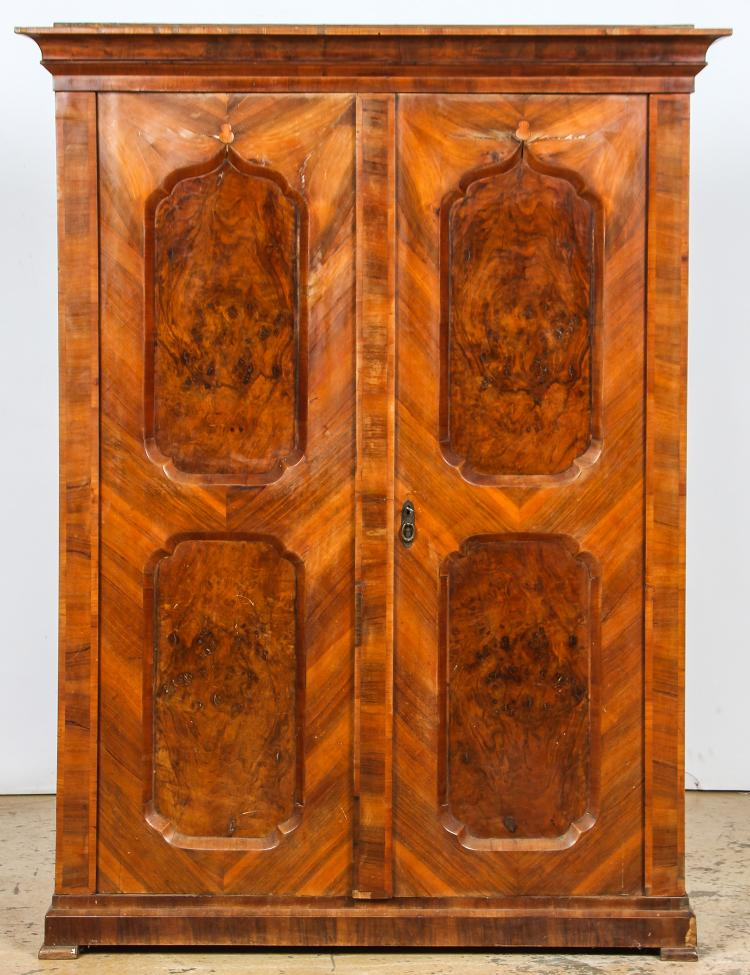 Antique Biedermeier Armoire