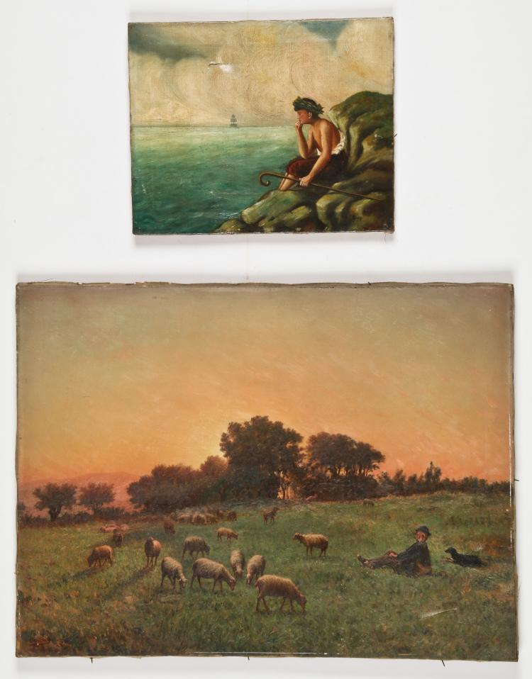 Two Oil Paintings by Various Artists