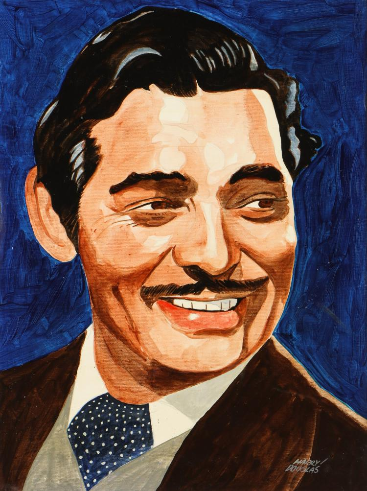 Harry Douglas (American, 20th c.) Portrait of Clark Gable