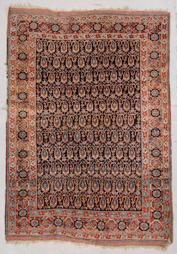 Antique Afshar Rug: 4'3