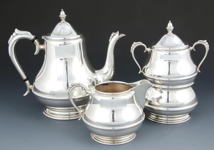 Randahl Four Piece Silver Tea Service