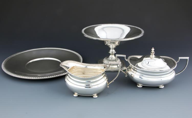 4 Sterling Silver Table Wares
