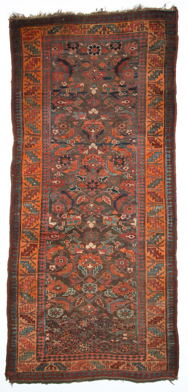 Antique Northwest Persian Kurd Rug: 3'10