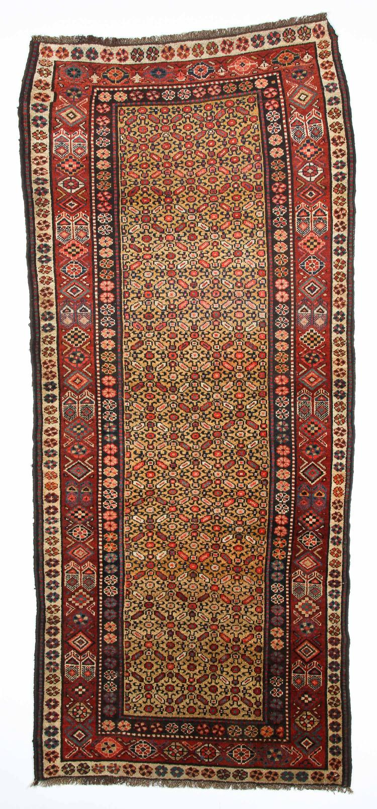 Antique Northwest Persian Kurd Rug: 3'8