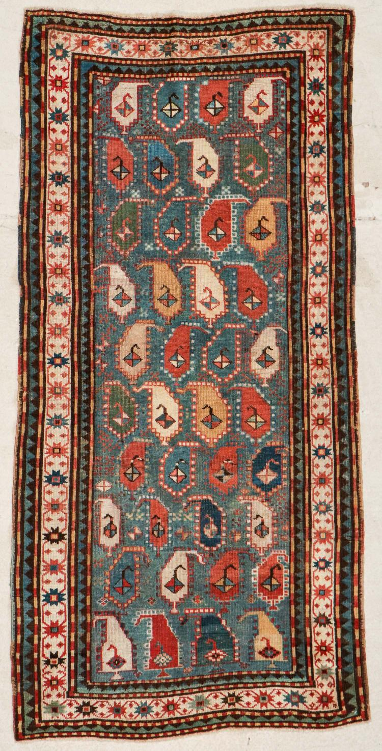 Antique Kazak Rug: 3'5