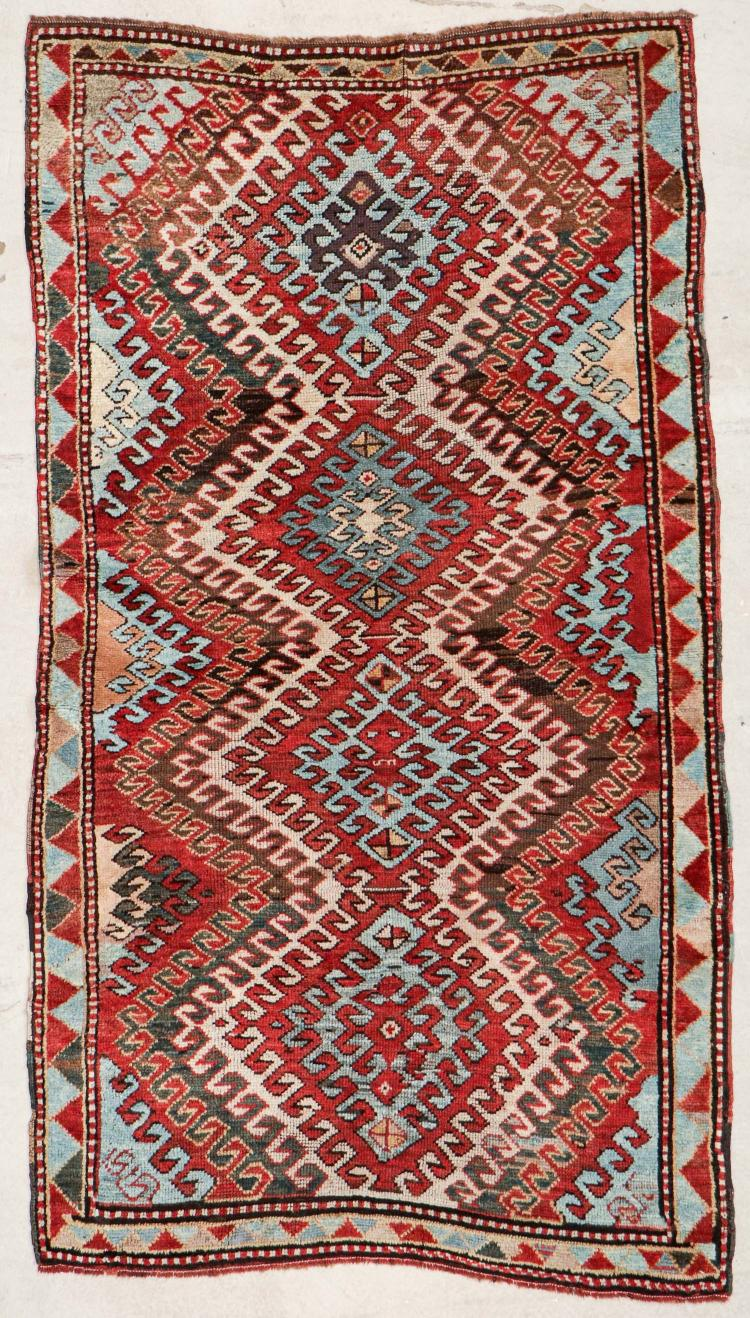 Antique Kazak Rug: 3'10