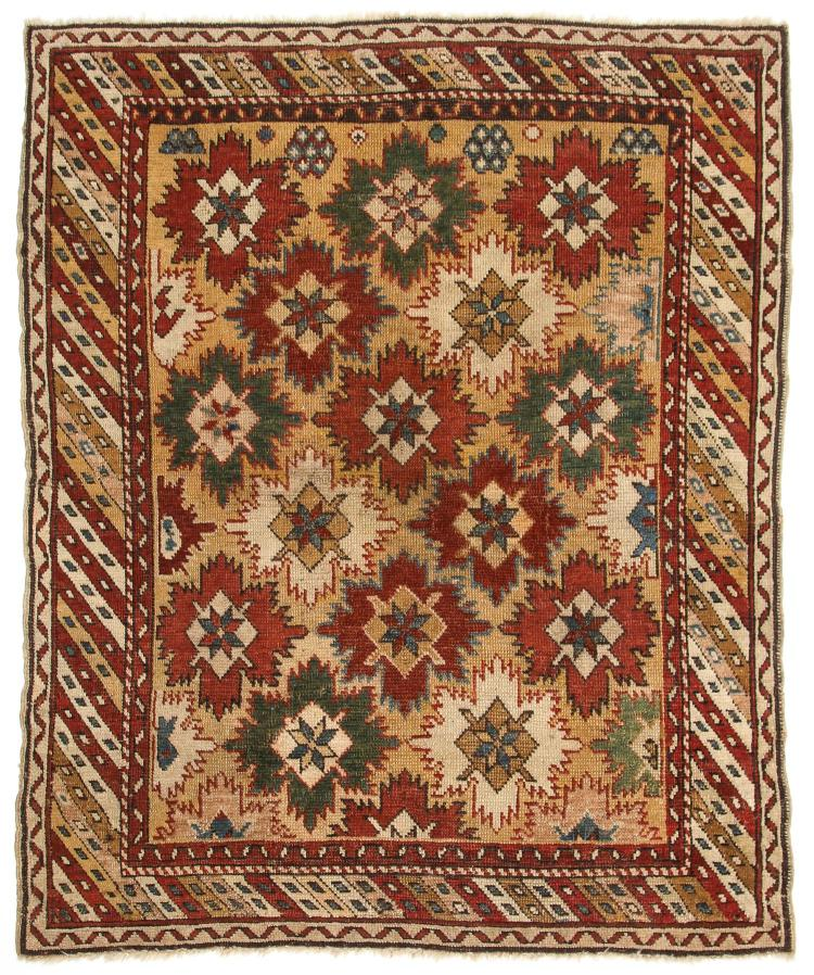 Antique Shirvan Rug: 3'4