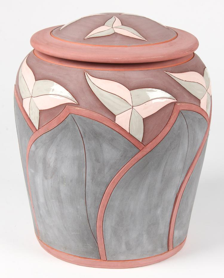 Don Cornett Lidded Art Pottery Jar