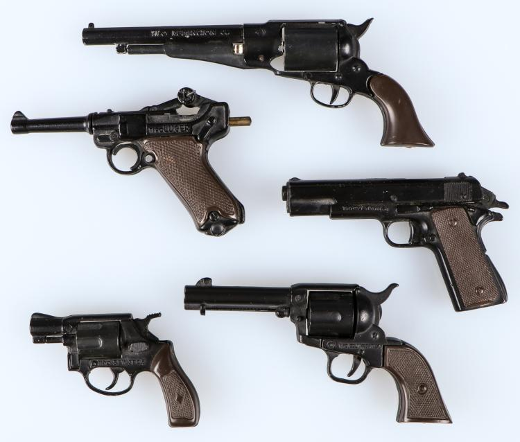 5 Uniwerk Italian Scale Model Cap Guns