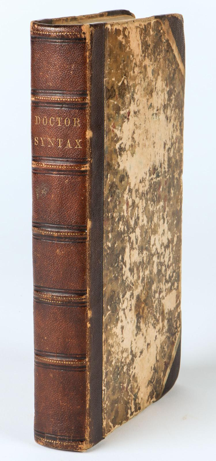 Combe, William. The Tour of Doctor Syntax