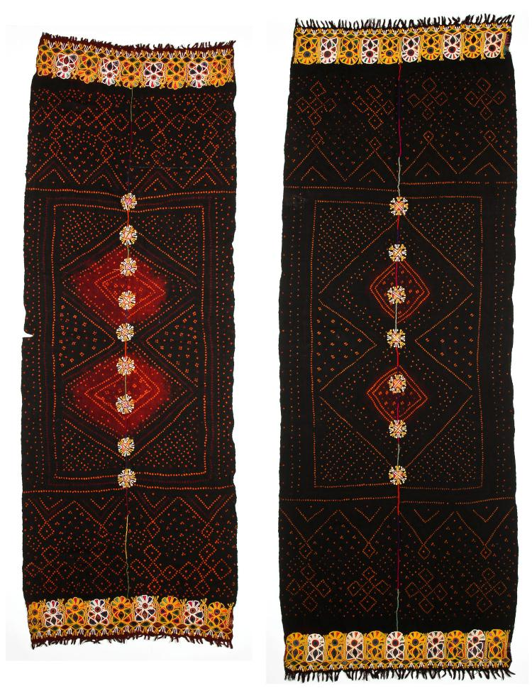 2 Large Sind Embroideries, Early 20th C