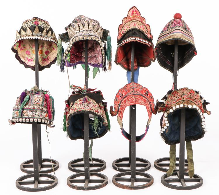 8 Chinese Minority Hats