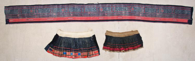 3 S. China Minority Embroidered Textiles