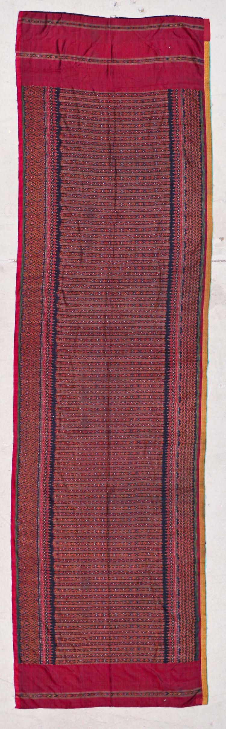 Cambodian Silk Ikat, Early 20th C