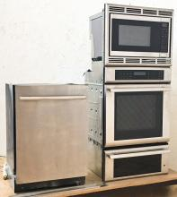 Stainless Steel Kitchen Appliance Group