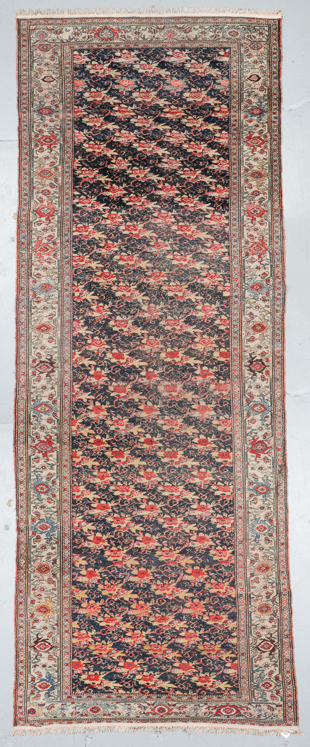 Antique Bidjar Rug, Persia: 6'4'' x 16'8''