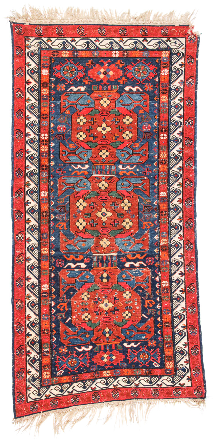 Antique Sumak Rug, Caucasus: 3'3'' x 6'7''