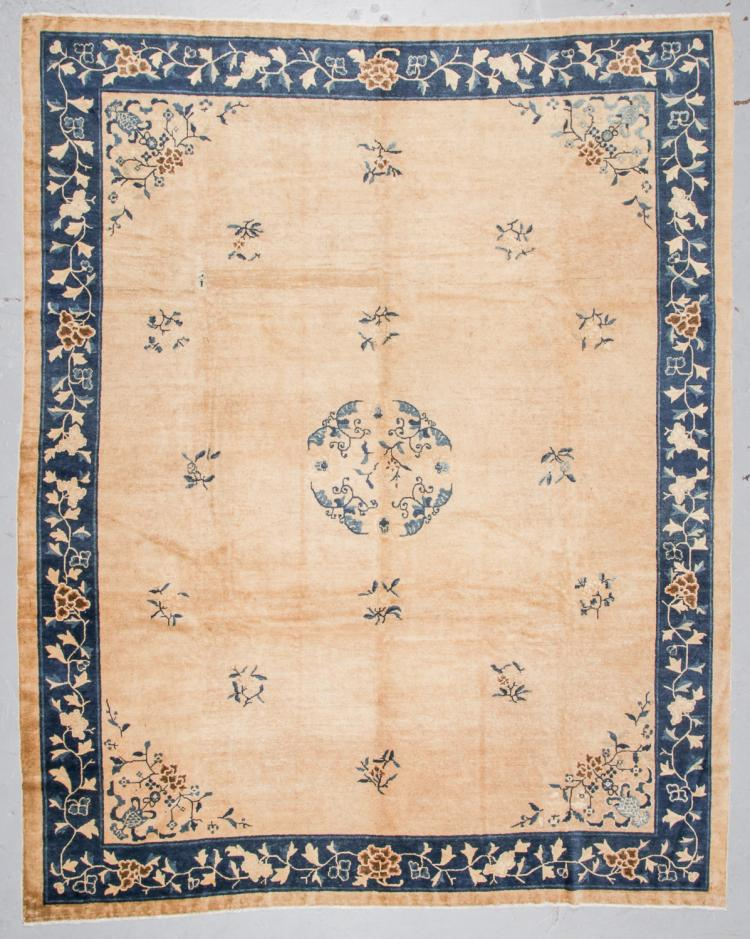 Antique Peking Rug, China: 9'1'' x 11'4''