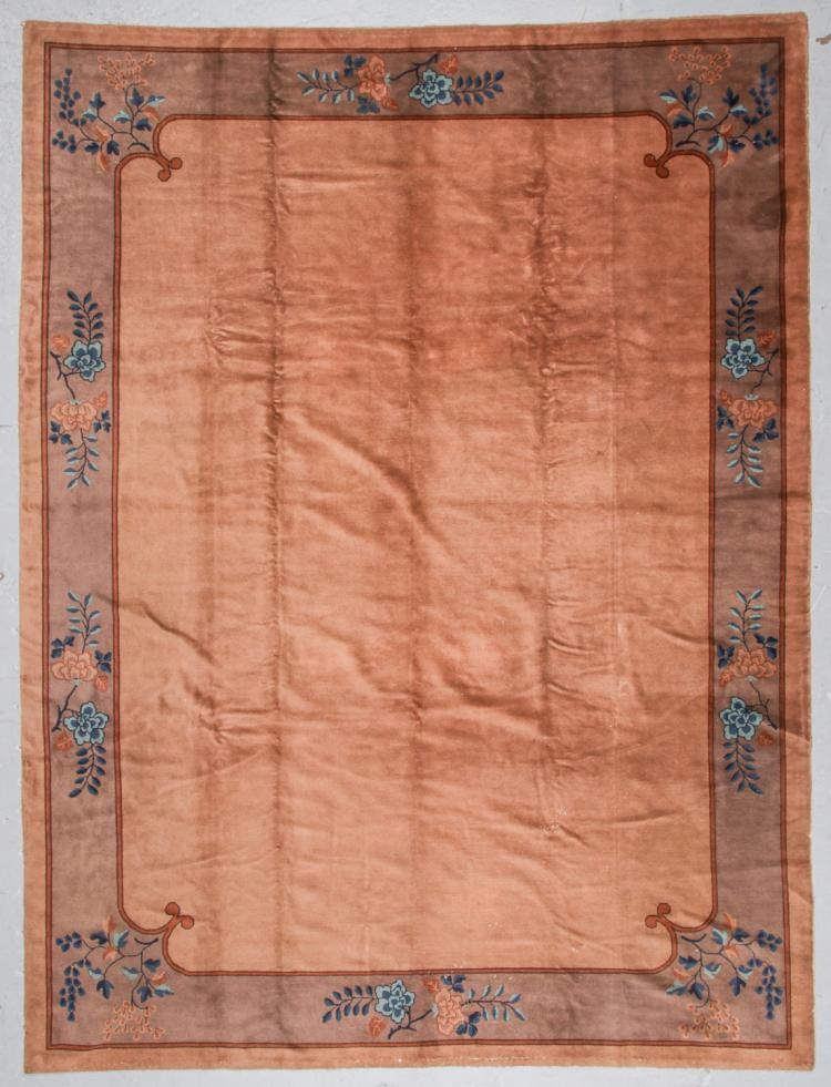 Antique Peking Rug, China: 8'11'' x 11'9''