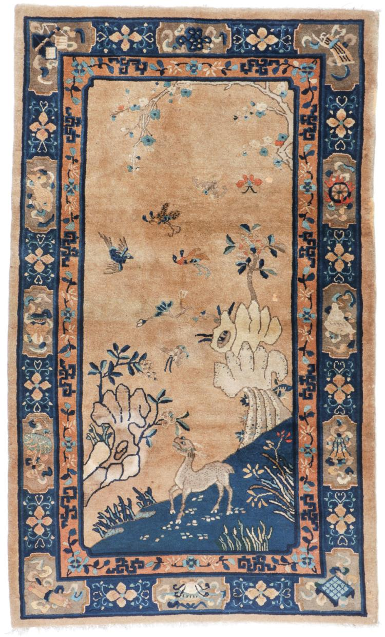 Antique Peking Rug, China: 4'1'' x 6'10''