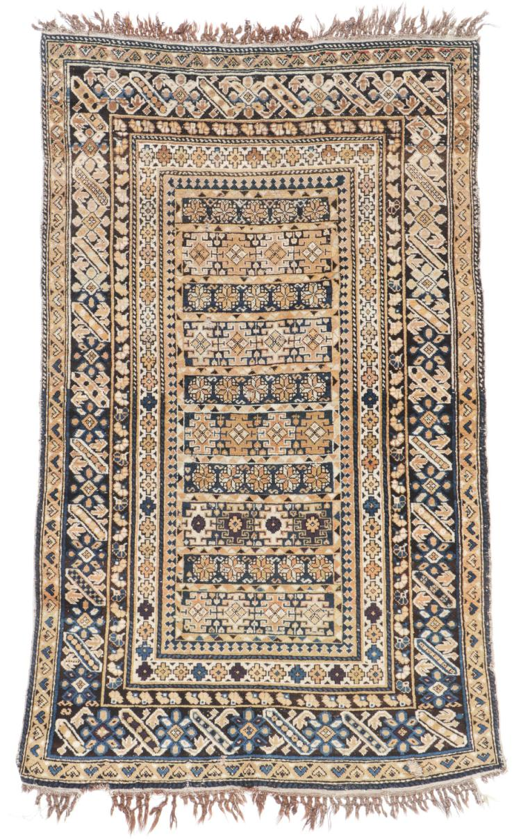 Antique Kuba Rug, Caucasus: 3'8'' x 6'4''