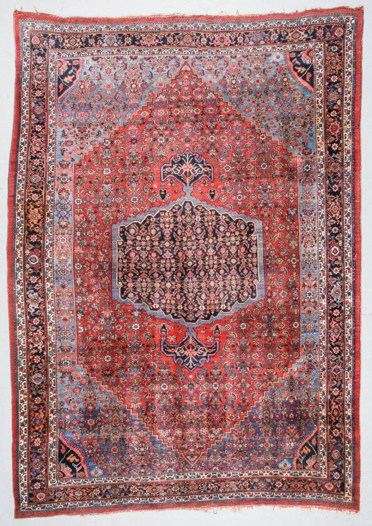 Antique Bidjar Rug, Persia: 8'7'' x 11'11''