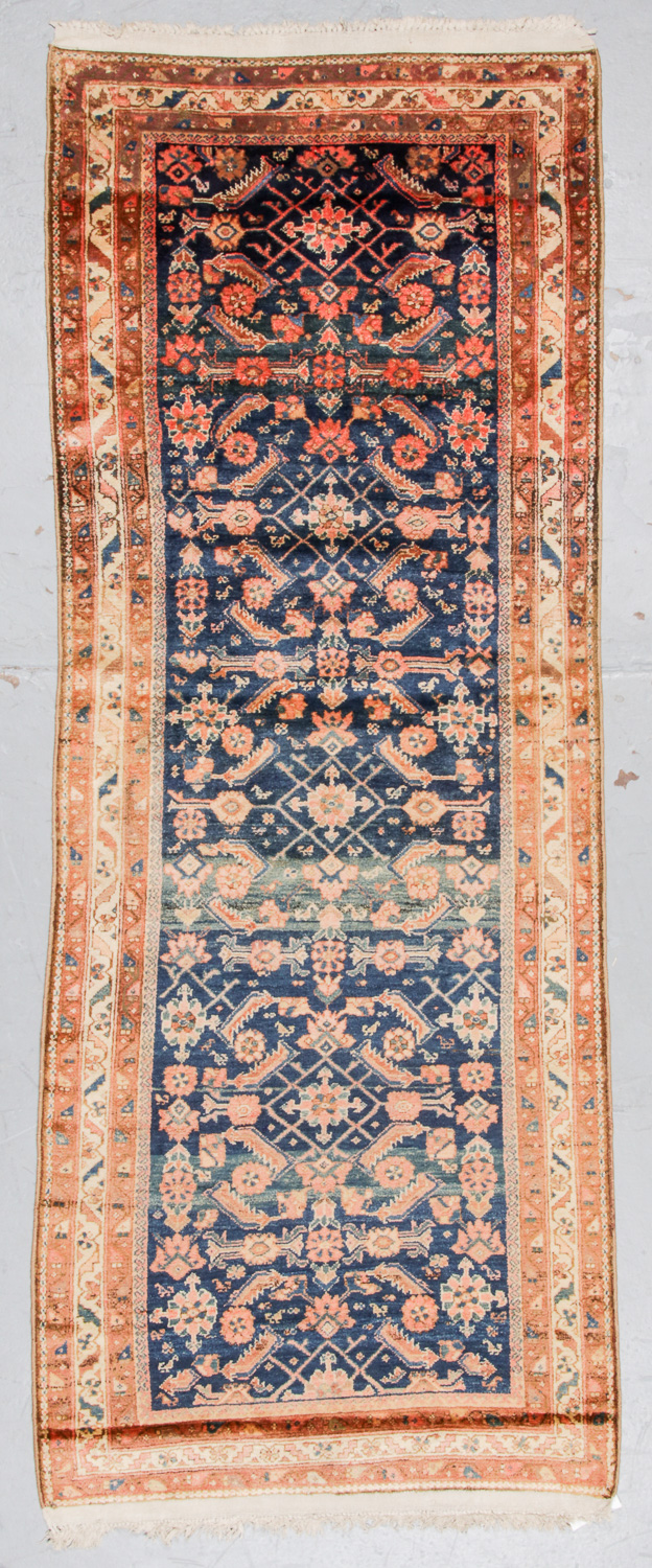 Antique Hamadan Rug, Persia: 3'9'' x 9'11''